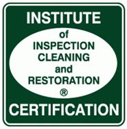 Institute of Inspection Cleaning and Restoration-Certified
